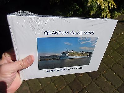 Quantum-Class Ships Royal Caribbean Cruise BUILDER BOOK Meyer Shipyard ENGLISH
