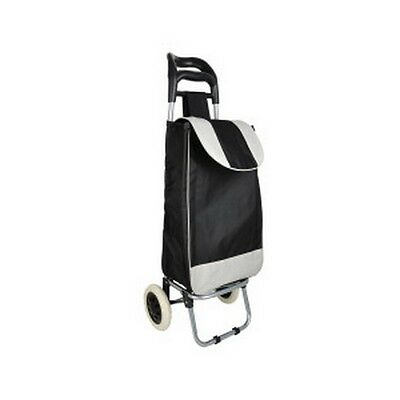 Kole Imports OD880 Easy Pull Shopping Bag with Wheels NEW