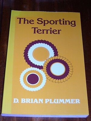"""the Sporting Terrier"" By Brian Plummer 1998 Rare Dog Book Sealyham Welsh Bull"
