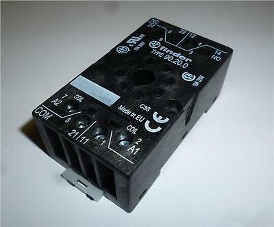 Finder 9020 Relay Base for 60.12 Series Relays (8 pin Octal)