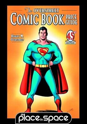 Overstreet Comic Bk Pg Vol 45 Joe Shuster Superman Cvr - Softcover