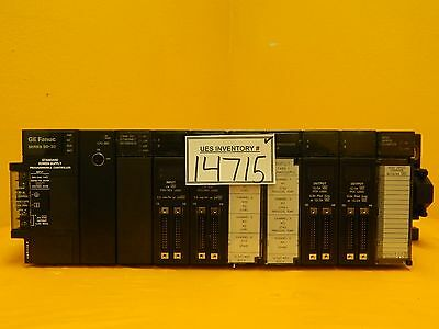GE Fanuc Series 90-30 10-Slot PLC Controller System IC693CPU313V Used Working