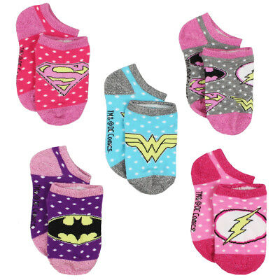 Justice League Toddler Girls Womens Multi Pack Socks JL920