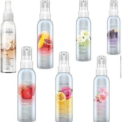Avon Naturals Room and Linen Scented Spritz Spray VARIOUS Fragrances 2 x or 4 x