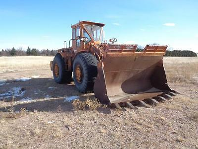 Cat Caterpillar Wheel Pay Front End Loader Spade Nose