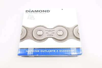 New Diamond X-1466-010 1/2 In 10Ft Single Strand Riveted Roller Chain D558391