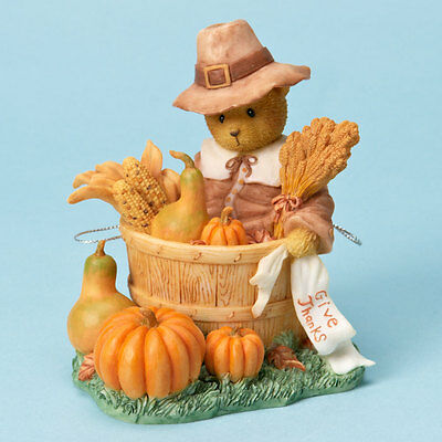Cherished Teddies #4023731 HERBERT, Surrounded by Blessings, From Retail Store