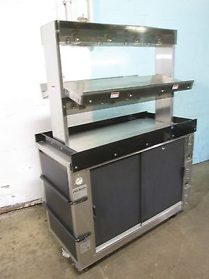"""hickory"" Hd Commercial Heated Lighted Self-Serve Chicken/hot Food Merchandiser"