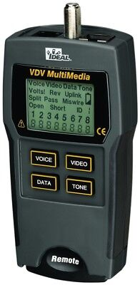 IDEAL - 33-856 VDV MultiMedia Cable Tester
