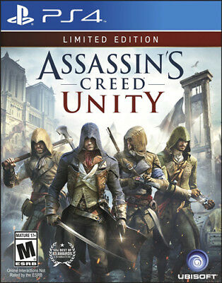 Assassin's Creed Unity Day One Limited Edition [M] (PS4)