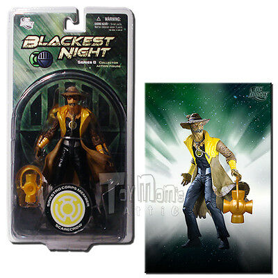 DC Direct Blackest Night Series 8 Sinestro Corps Scarecrow 6-Inch Action Figure