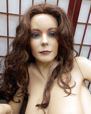 Reclining Realistic Hindsgaul L8 Complete MANNEQUIN & Wig Vtg Female