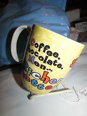 "Nib Betty Boop Yellow Mug Coffee Cup By Romero Britto ""coffee Chocolate Men..."""