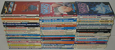 Doctor Who Target Book Lot 72 Paperback Books