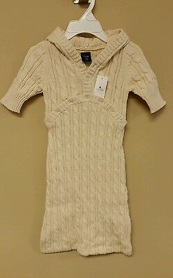 Brand New Baby Gap Sweater Gown Size 0-3ms