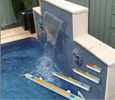 Swimming Pool/ Garden Feature LED Water Fall