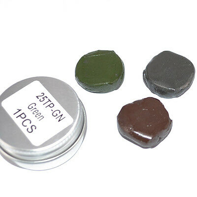 Tungsten Rig Putty 15g 25g Brown Black Green Fishing Weights Terminal Tackle