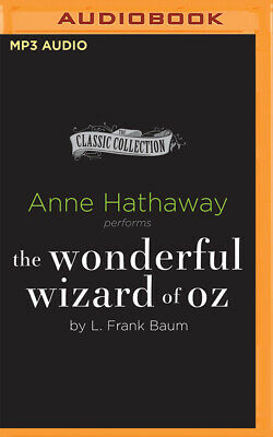 The Wonderful Wizard of Oz by L. Frank Baum (2016, MP3 CD, Unabridged)