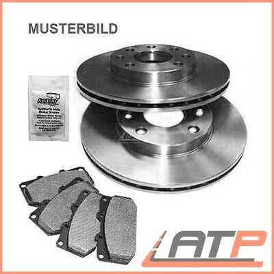 Kit Brake Discs + Pads Front Vented Vw Polo 6N 6N1 6N2 6Nf New