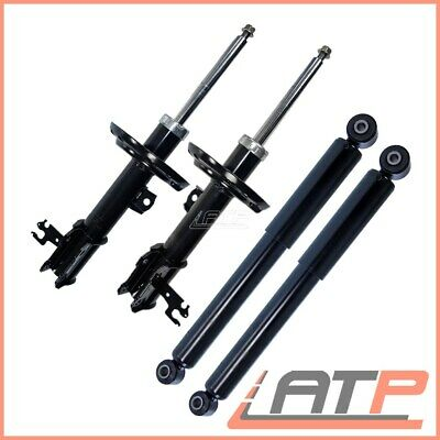 4x SHOCK ABSORBER GAS FRONT REAR VAUXHALL VECTRA C + CARAVAN 1.6-3.2 FROM 2003