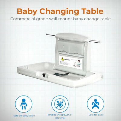 Wall-mounted Baby Changing Station Table
