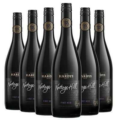 Hardy's Nottage Hill Pinot Noir 2015 (6 x 750mL) SEA