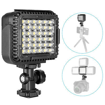 Neewer CN-LUX360 Luce LED 36 Bulbi Dimmerabile Temperatura Colore 5600K per DSLR