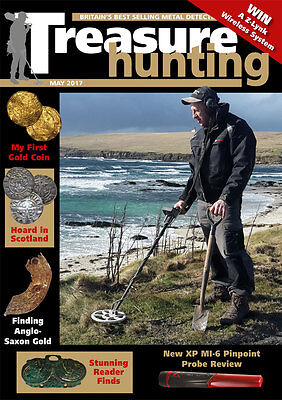 Treasure Hunting Magazine May 2017