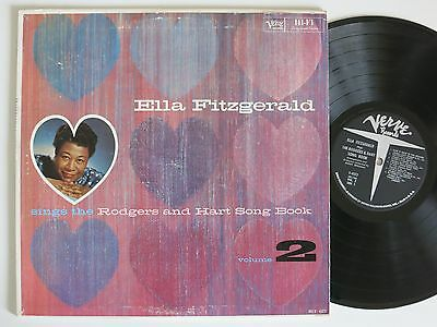Ella Fitzgerald Sings The Rodgers And Hart Song Book Vol 2 Us Verve Lp Mint-