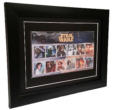 Presentation Pack Frame ideal for Royal Mail Star Wars or David Bowie stamps