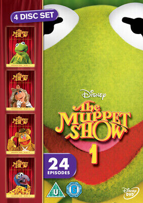 The Muppet Show: The Complete First Season DVD (2005) Jim Henson cert U 4 discs