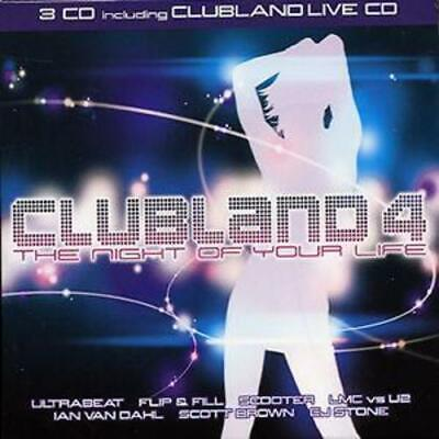 Various Artists : Clubland 4 CD 3 discs (2003) Expertly Refurbished Product