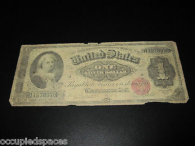 1886 Martha Washington One Silver Dollar $1 Silver Certificate