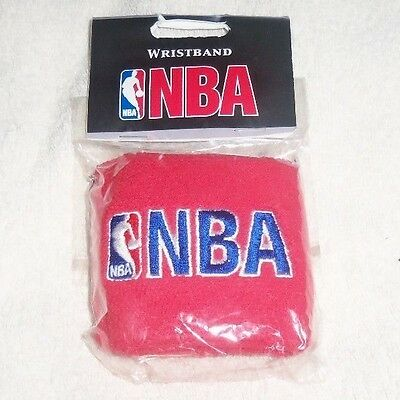 NBA : Red Wristbands - Pack of 2 - New