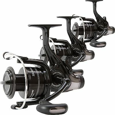 Daiwa NEW Black Widow 5000 BR Front Drag Lightweight Set of 3 Carp Fishing Reels