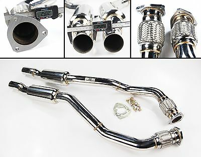 Toyosports 200Cpi Sports Cat Stainless Exhaust Downpipes Audi A5 Rs5 4.2 V8 10+