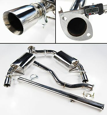 Stainless Exhaust System From Cat Renault Clio Iii Mk3 Rs Sport 197 200 2.0L