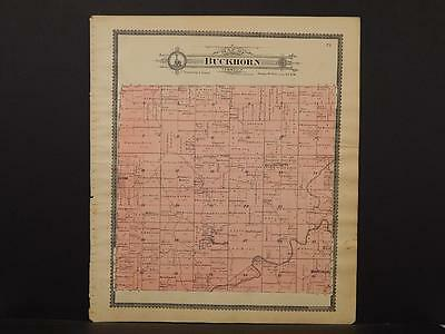 Illinois, Brown County Map, c.1901, Buckhorn Township, L6#85