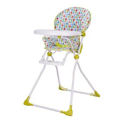 OBaby Disney Bebé Trona (Monsters Incluye) con bandeja y COMPACT PLEGABLE