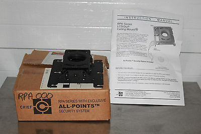 Chief RPA Series LCD / DLP Ceiling Projector Mount NEW #1