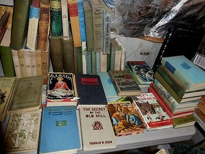 Huge Lot Of Old Books Over 150 In Used Condition