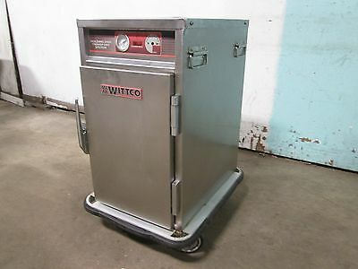 """wittco 1220-7 Bc"" H.d. Commercial (Nsf) Electric Warmer Mobile Holding Cabinet"