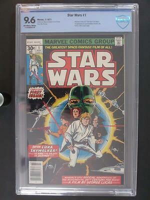 Star Wars #1 -NEAR MINT- CBCS 9.6 NM+ Marvel 1977 - 1st App of Luke Skywalker!!!