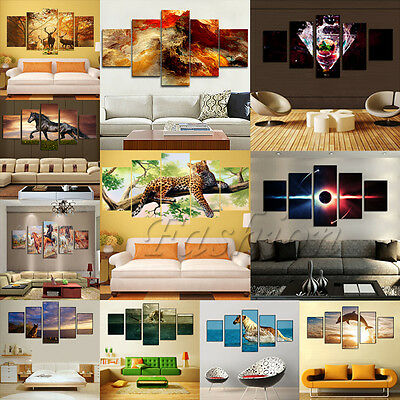 Large Canvas Huge Modern Home Wall Decor Art Oil Painting Print Picture No Frame