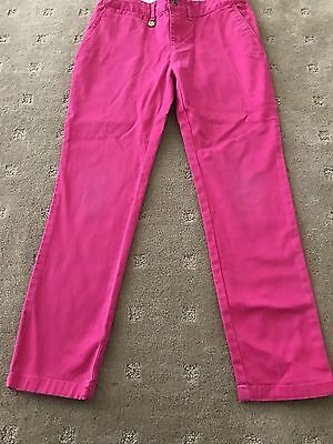 Ralph Lauren Polo Girls Pink Pants Size 8 Years Good Condition