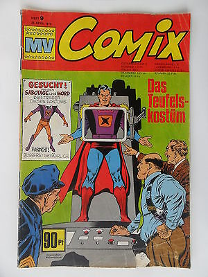 Micky Vision Comix 1970  Nr. 9 Zustand 3