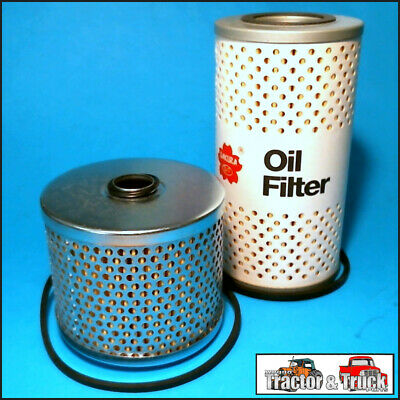 FLK4401-E Oil Fuel Filter Kit International IH B250 B275 A414 Tractor w Cartr FF