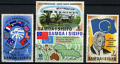 Samoa 1972 SG#382-5 South Pacific Commission Used Set #D47083