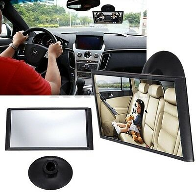 Universal Car Interior Adjustable Blind Spot Rearview Mirror Windscreen Suction