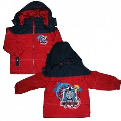 Thomas and his Friends - Children Winter Jacket Red - Size 104 - Little Engine